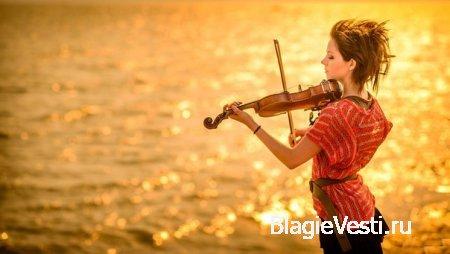 Lindsey Stirling Аудиозапись: Скрипка и бит.