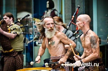 Любители шотландской волынки оценят по достоинству...