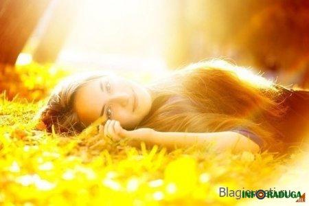 Когда внутри у женщины Солнце, в его лучах невозможно