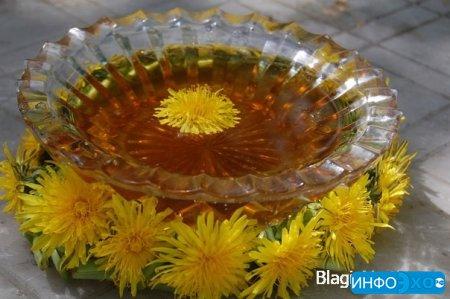 Варенье из одуванчиков: лекарственный мёд.Необычный