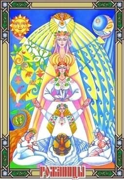День богородицы Рожаны.