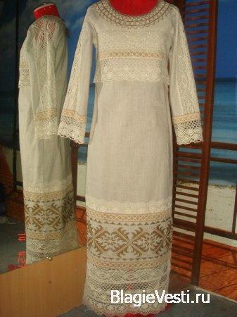 Славяне издревле украшали свою одежду разнообразными орнаментами