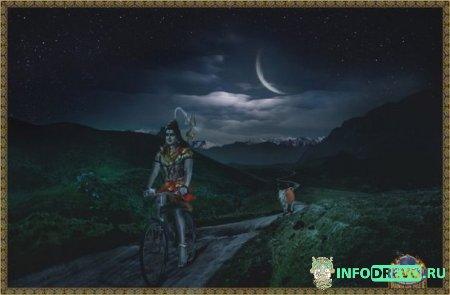 Индии есть старинная легенда о полубоге Браме, который был совершенно одинок.