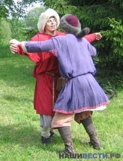 Русские традиционные игры.