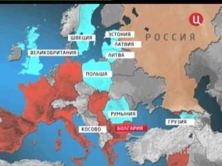 Политическая карта будущего мира.