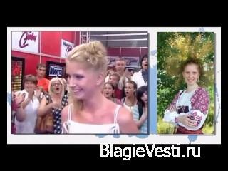 Девушка поет на старославянском народные песни!