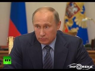 Путин раскритиковал действия сотрудников МВД во время инцидента на Матвеевс ...