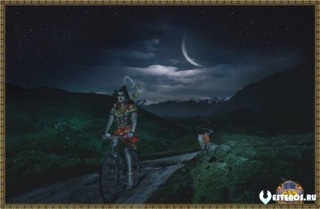 В Индии есть старинная легенда о полубоге Браме, который был совершенно одинок.