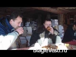 Герман Стерлигов с парнем с севера Руси (разговор в Слободе)