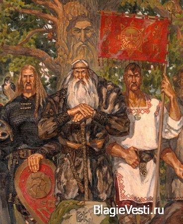 """Максим Кулешов пишет:""""Богатырская застава""""."""