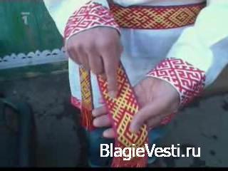 Документальный фильм о Родной Вере показанный по центральному каналу Чешско ...